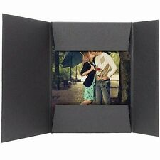 Photo Presentation Folders For 8x10 Black 25 Pack (Same Shipping Any Qty)
