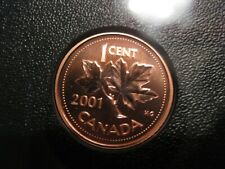 2001 UNC Specimen Canadian Penny One Cent - 1 cent coin
