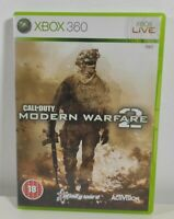 Call of Duty Modern Warfare 2 Xbox 360 Xbox One Game Near Mint No Manual PAL UK
