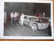 Vintage Ronnie Dunston Late Model Williams Grove Speedway B&W 3 X 5 King Photo