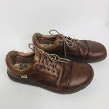 Lems Nine2Five Mocha Minimalist Cap Toe Shoes Mens Size 45 Size 11