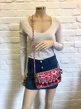 Beautiful Hand Embroidered Vintage Envelope Cross Body Bag