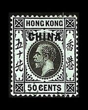 VINTAGE: H0NG KONG 1917 OG LH $70  SCOTT# 11A 190050