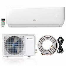 Klimaire 9000 Btu 22.5 SEER Ductless AC Mini Split Inverter Heat Pump 115V