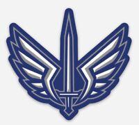 XFL St. Louis Battlehawks Custom Logo Die Cut Magnet for Fridge or Toolbox