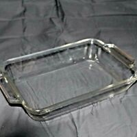 Vintage Glass Anchor Hocking Glass Baking Dish 8 X 8 X 2.25 2 QT