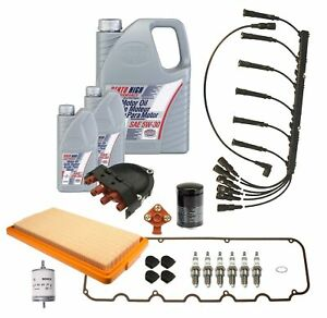 OEM Complete Tune Up & Filters Kit with Oil For BMW E30 325e 1984-1985