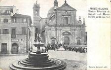 3224) RONCIGLIONE (VITERBO) PIAZZA, ANIAMTA, TESSUTI GENERI DIVERSI. VG NEL 1908