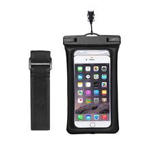 Funda acuatica sumergible movil bolsa de agua estanca impermeable telefono Negro