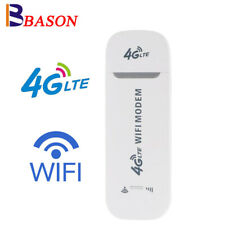 Unlocked 4G LTE WIFI Wireless Router USB Dongle Mobile Broadband Modem Sim Card