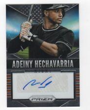 Adeiny Hechavarria AUTOGRAPH New York Yankees 2014 Panini Prizm AUTO Baseball