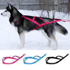 Sledding X-Back Dog Weight Pulling Harness Heavy Duty Reflective Adjustable XL