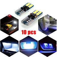 10 x T10 Canbus 8 SMD Super bright white 6000K Car Lights Bulb 194 168 W5W 3030