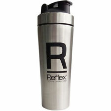 Reflex PhD Silver Stainless Steel 750ml Protein Whey Shaker Bottle Shaker SALE