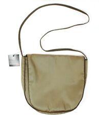Mycra Pac Brown Tan Shoulder Bag Purse Water Resistant Vegan Lagenlook NEW NWT
