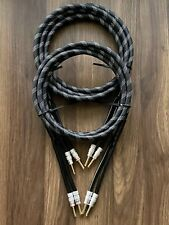 SPEAKER CABLE 12 GAUGE 8 FT. PAIR. HIGH QUALITY CABLE