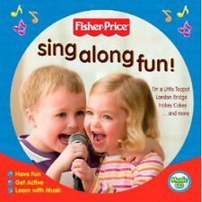 Fisher Price Sing Along Fun (CD 2012) New/Sealed