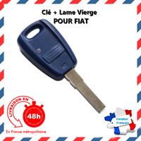 Coque Télécommande Clé Plip Bouton FIAT Punto Doblo Stilo Bravo + Cle Vierge