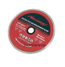 180mm continuo RIM Diamante Taglio Disco-Elettrica TAGLIAPIASTRELLE LAMA CT236