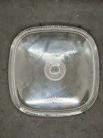 Pyrex Clear Replacement Dome Lid A-12-C Fits 5 Qt. Corning Casserole Dish 10 3/8