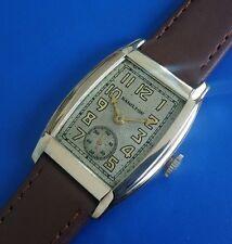 RARE Vintage1931 HAMILTON *GLADASONE* Aged Silver Tone Dial FULLY SERVICED