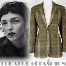 VINTAGE RALPH LAUREN JACKET TWEED 12 14 16  RIDING 40s VICTORIAN LADY CHATTERLEY