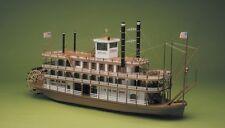 Mississippi Paddle Steamer River Boat 1:50 Large Scale Wooden Kit