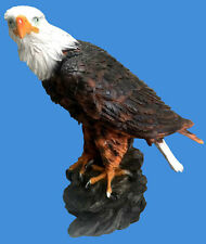 48cm Eagle on Rock Eagles Statues Outdoor Statue Figurine Garden Ornaments