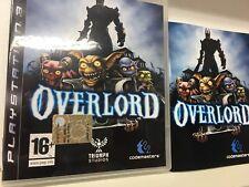 OVERLORD II PS3 USATO