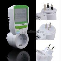 POWER CONSUMPTION ENERGY WATT VOLT METER ELECTRICITY USAGE MONITOR ANALYZER