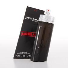 New In Box Bruno Banani Dangerous Man 2.5 fl.oz / 75ml EDT Perfume For Men