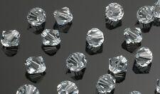 25 Swarovski Crystal Beads # 5301 Lt  Azore 6MM