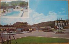 1960s Chrome Postcard: 'Sun Valley Motel - Junction, Texas TX'