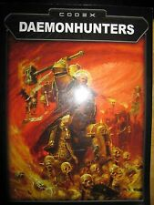 Warhammer 40,000 Codex Daemonhunters Army book OOP
