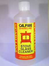 Heavy duty Stove Glass Cleaner - Soot & Tar Remover - Window Cleaner