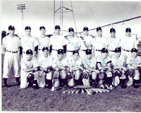 1949 INDEPENDENCE KANSAS TEAM  8x10 PHOTO 17 YEAR OLD MICKEY MANTLE  YANKEES