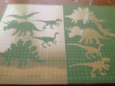 Dinosaures Enfants Décoration Chambre Réutilisable Craft Pochoir A5 A4 A3 057