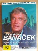 Banacek : Season 2 [5 DVD Box Set] Region 4, BRAND NEW & SEALED, Free Fast Post