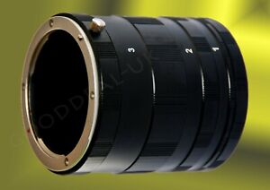 Macro Extension Tube Ring Set for 4/3 Four Thirds mount camera