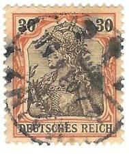 DR 74 FRANCOBOLLO STAMP GERMANY DEUTSCHES REICH 30 1902