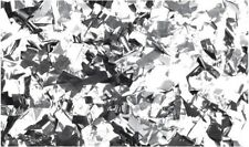 60914si Showtec Show Confetti Metal Silver Rectangle 1 Kg Fireproof