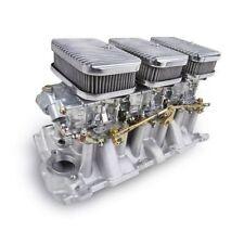 Holley Performance 300-522 3 x 2 SBC Intake Carb Kit