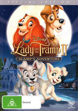 Lady and the Tramp II: Scamp's Adventure * NEW DVD * (Region 4 Australia)