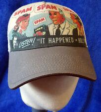 Vintage SPAM baseball cap 1930s Advertisement RADIO canned meat ad snapback