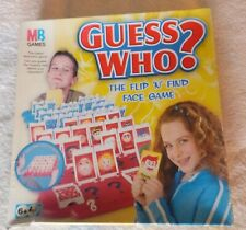 Guess ? Who - MB Games - Board Game