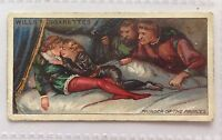 Murder Of The Princes Wills Cigarettes 1912 Historic Events Trading Card (B6)