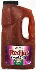 Frank's Red Hot Sweet Chili Pepper Sauce 0.5 Gallon-Salsas  甜辣椒 Indian Spanish