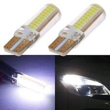 2PCS T10 COB W5W 12V Car Wedge Head Parker White LED Light Bulb Map Lamp
