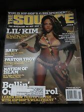 THE SOURCE MAGAZINE #158 November 2002 Lil' Kim Cover