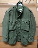 GENUINE US ARMY LATE VIETNAM M65 FIELD JACKET 1982 VG - EX COND !!! SMALL SHORT